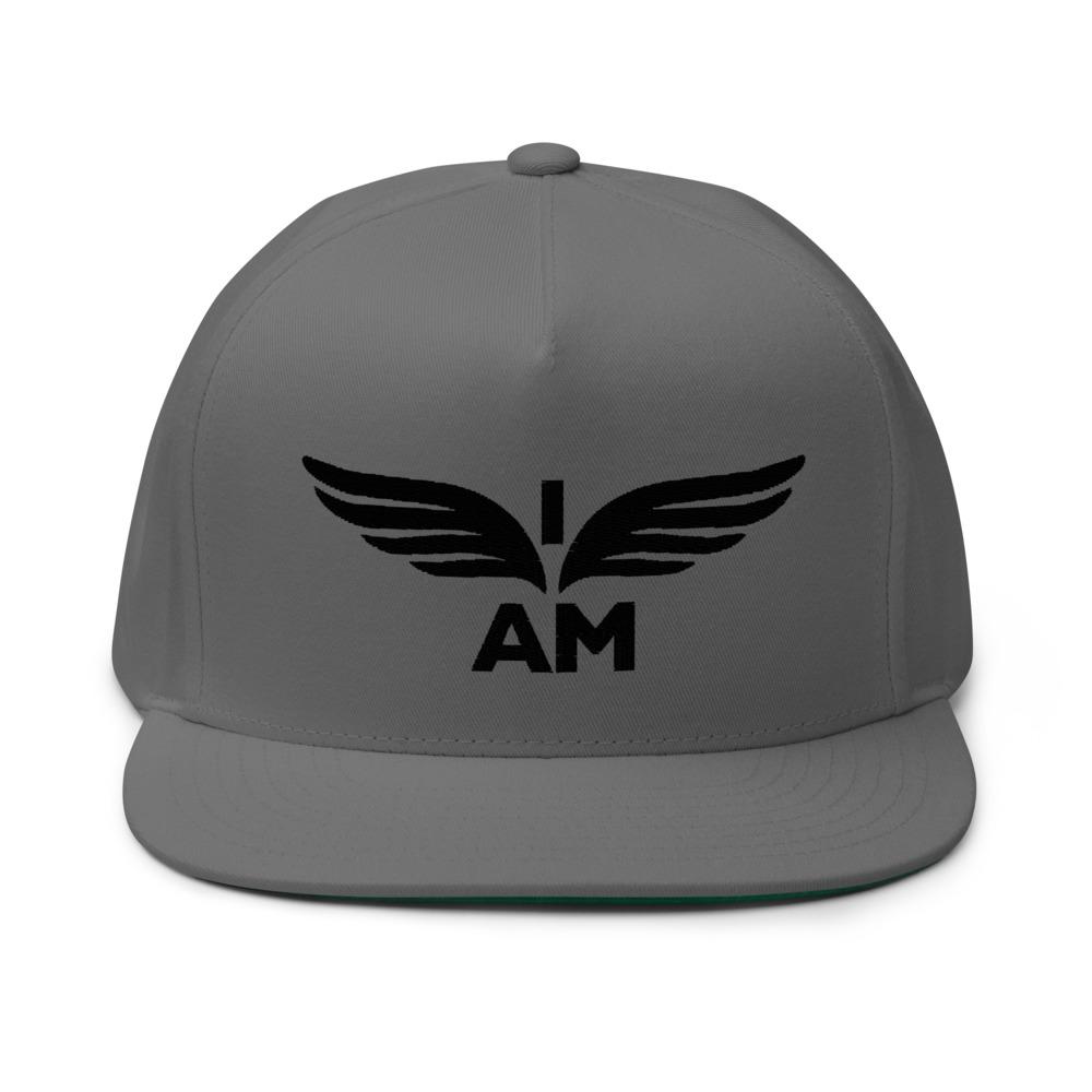 I-AM by Darran Hall Hat, Black Logo