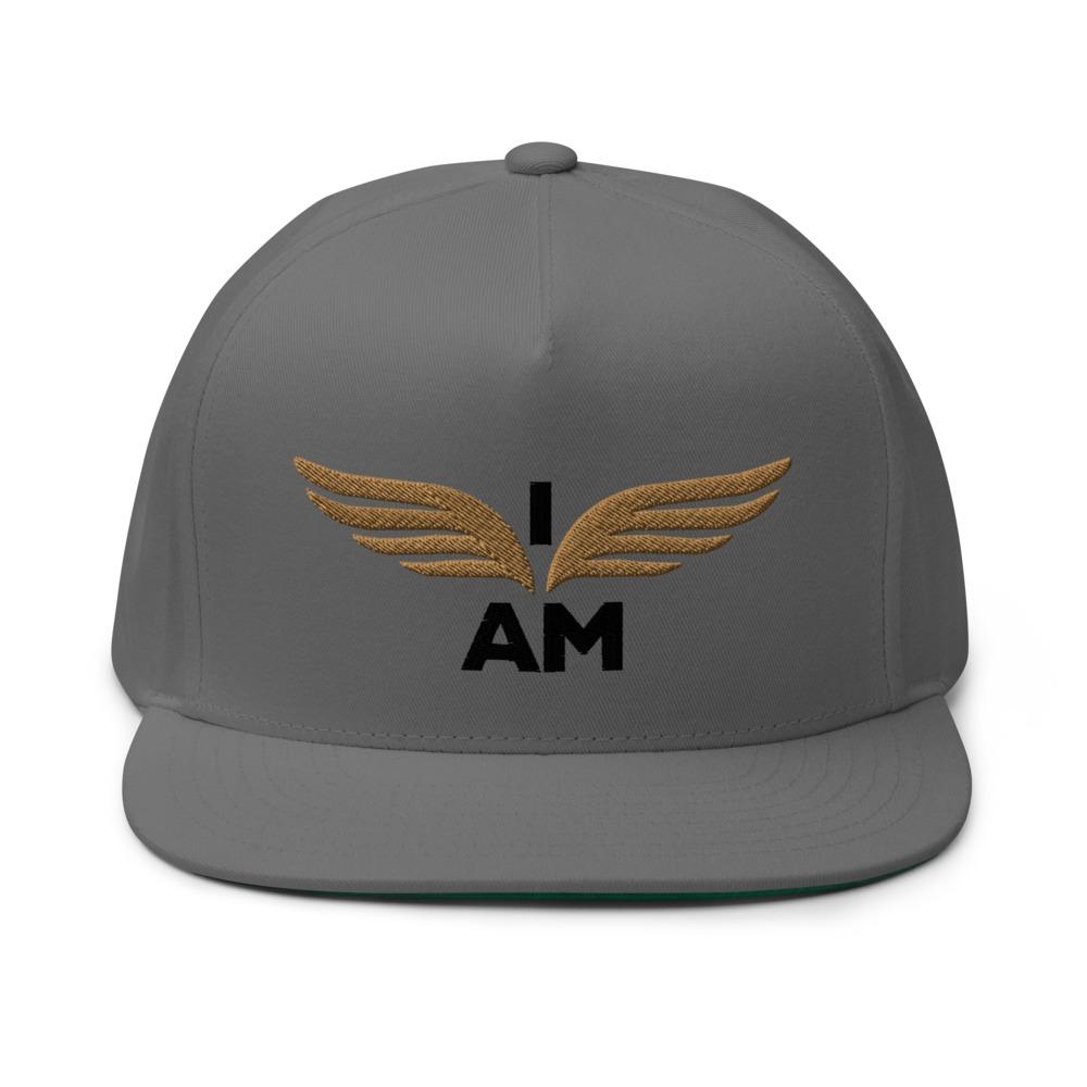 I-AM by Darran Hall Hat, Gold Logo