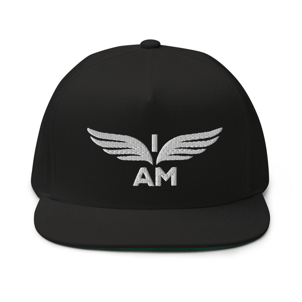 I-AM by Darran Hall Hat, White Logo