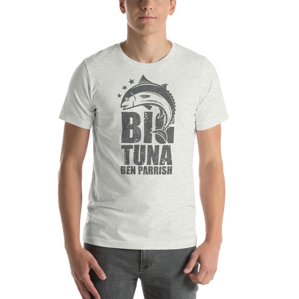 """""""Big Tuna"""" by  Ben Parrish Men's T-Shirt, Dark Logo"""