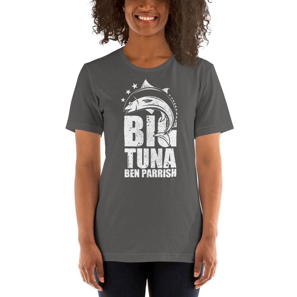 """Big Tuna"" by  Ben Parrish Women's T-Shirt, Light Logo"