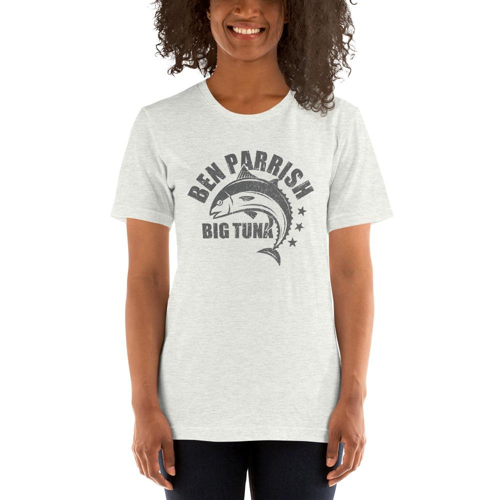 "Ben ""Big Tuna"" Parrish Women's T-shirt, Dark Logo"