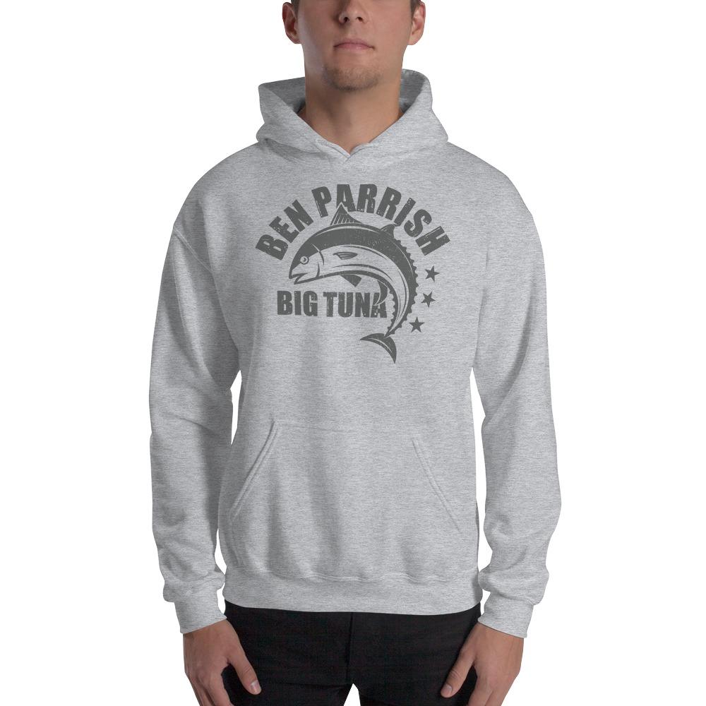"Ben ""Big Tuna"" Parrish Men's Hoodie, Dark Logo"