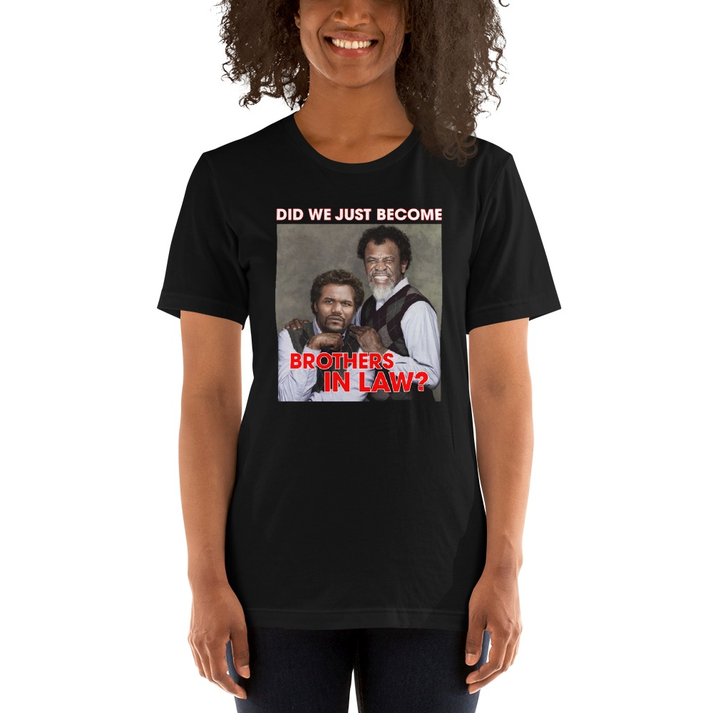 """""""Brothers in Law"""" by Quinton """"Rampage"""" Jackson, Women's T-Shirt"""