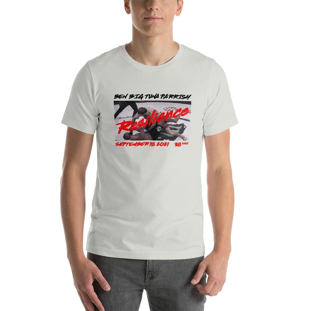 "Resilience by Ben ""Big Tuna"" Parrish, Men's T-Shirt"