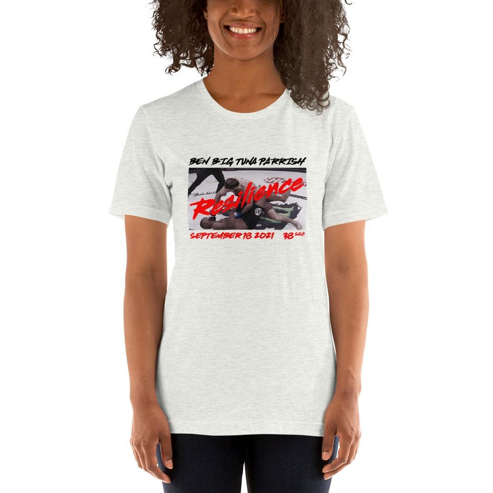 "Resilience by Ben ""Big Tuna"" Parrish, Women's T-Shirt"
