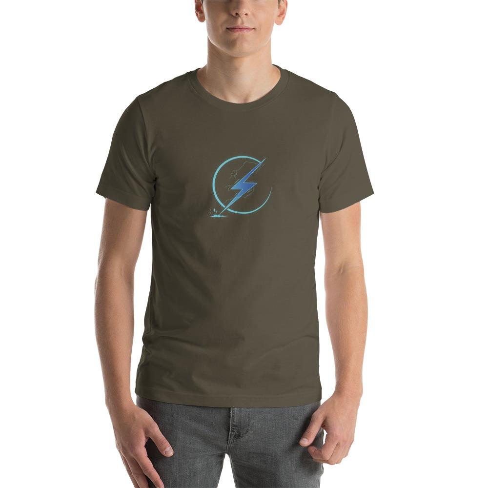 Lightning Volt by Austin Simoneaux Men's T-Shirt