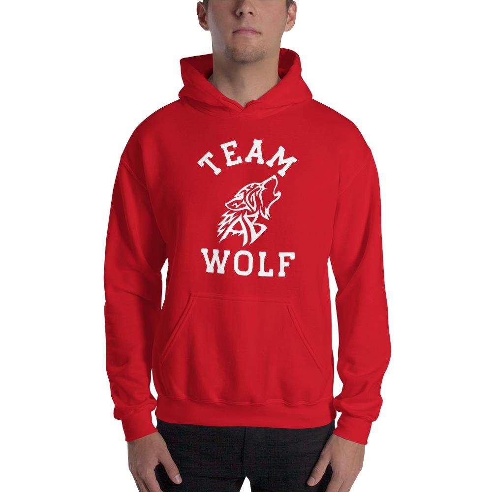 Team Wolf Hoodie