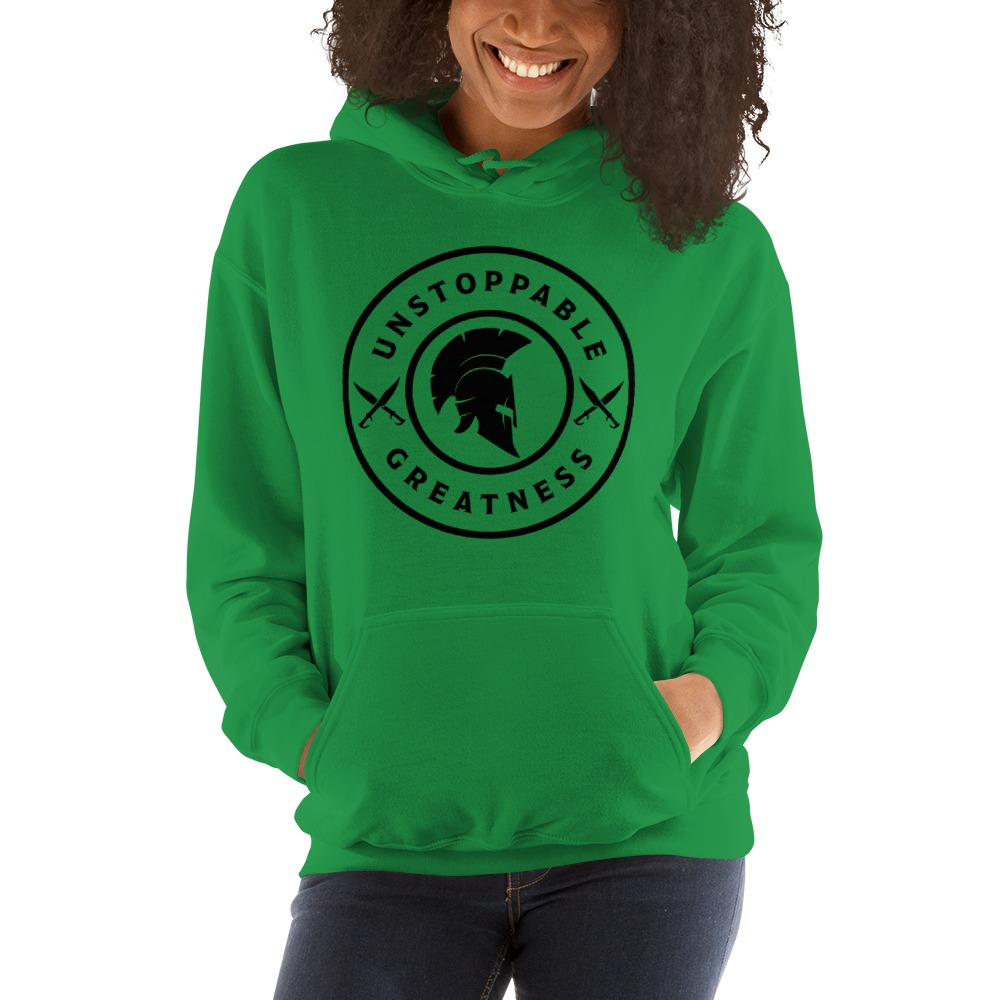 Unstoppable greatness hoodie