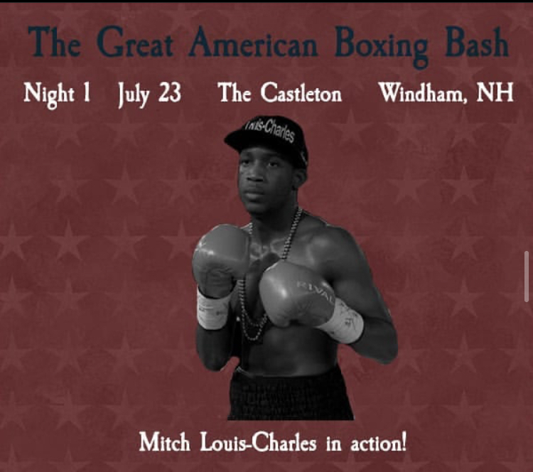 """""""Starchild"""" Mitch Louis-Charles Fight July 23rd"""