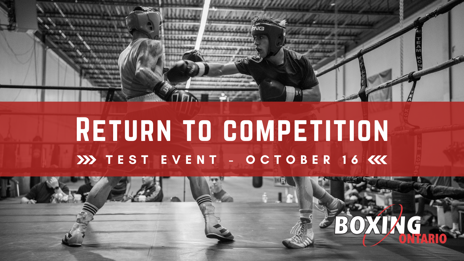 Return to Competition – Test Event